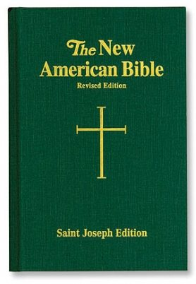 St. Joseph New American Bible Green Cloth