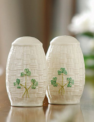 Belleek Salt & Pepper