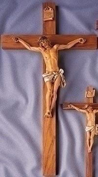 "Fontanini Crucifix 21"""