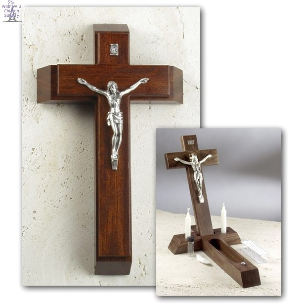 Sick Call Crucifix (Rosewood)