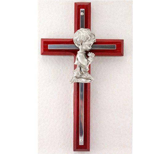 Cherry Cross Boy Kneeling