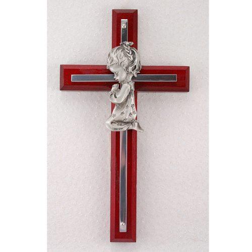 Cherry Cross Girl Kneeling