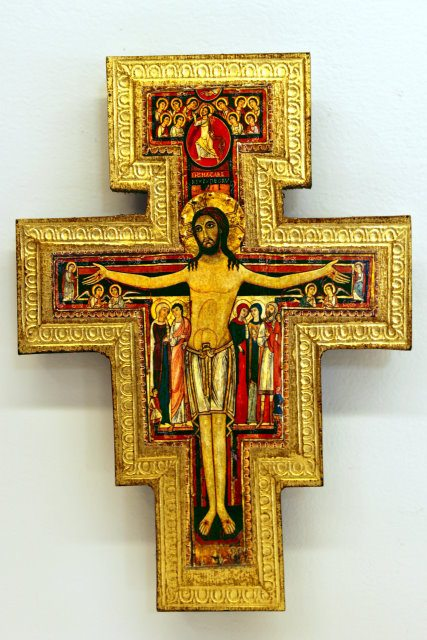San Damiano Cross 6""