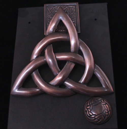 Bronze Trinity Door Knocker