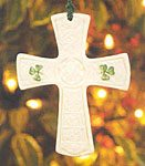 Belleek St. Patrick's Cross