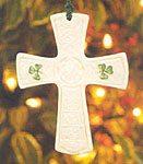 Belleek St. Patrick's Cross
