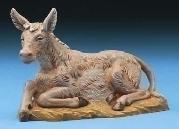 "Fontanini 5"" Seated Donkey"