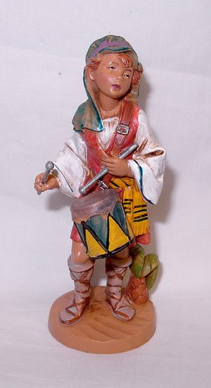 "Fontanini 5"" Jareth The Little Drummer Boy"