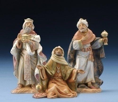 """3-Piece Fontanini 5"""" Three Kings"""