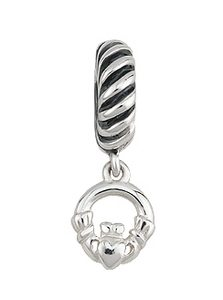 Celtic Claddagh Dangle Charm