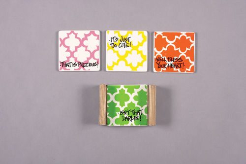 Southern Saying Coasters(4)