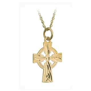 Celtic Cross 14K Gold