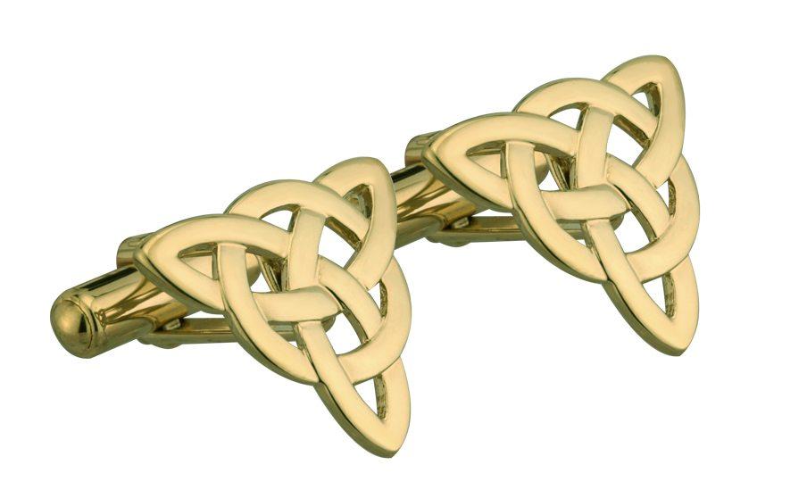 Cufflinks Trinity Knot