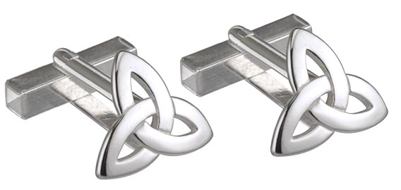 Cufflinks SS Trinity Knot