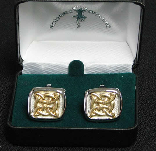 Cufflinks Celtic Knot