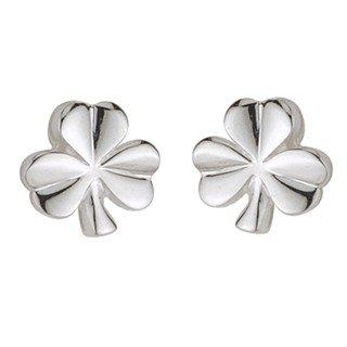 Shamrock Post Earrings