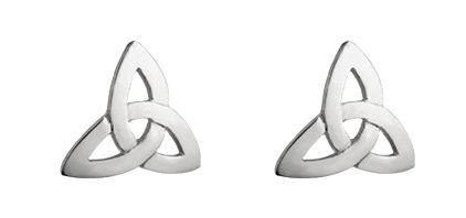 SS Post Trinity Knot Earrings
