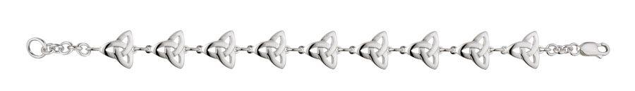 SS Trinity Knot Bracelet