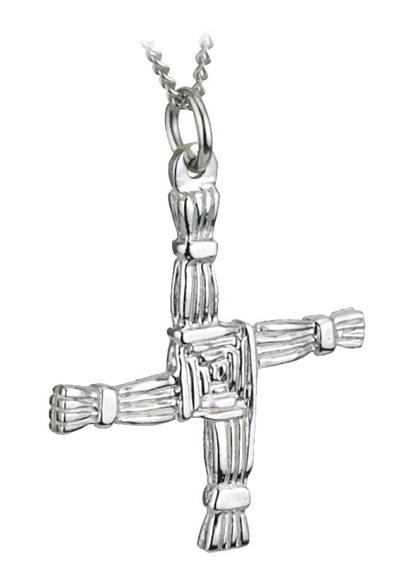 "St. Brigid's Cross Large 18"" SS"