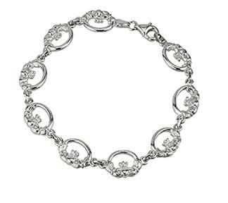 Claddagh Bracelet link