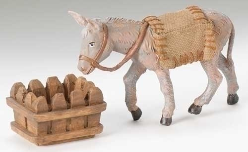 "Fontanini 3PC Set 5"" Mary's Donkey"