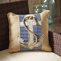 Anchor Pillow Wrap